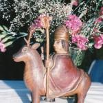 Statue originale de St Théleau