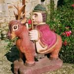 Nouvelle statue de St Théleau