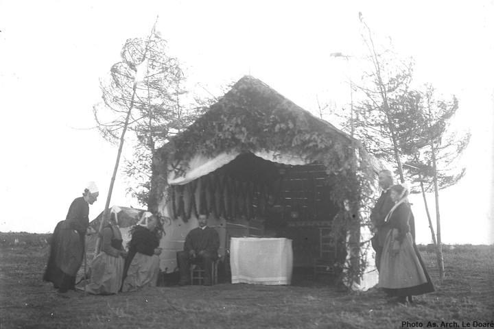 Chapelle St Ronan en 1905-1911