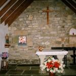 Intérieur chapelle 1977