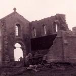 Démolition chapelle en 1977