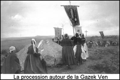La procession autour de la Gazeg Vaen
