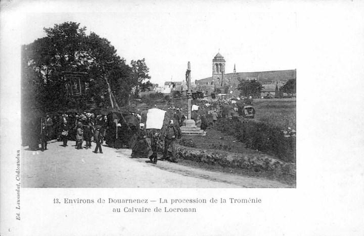 Départ de la procession en 1899