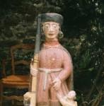 Statue Saint-Roch