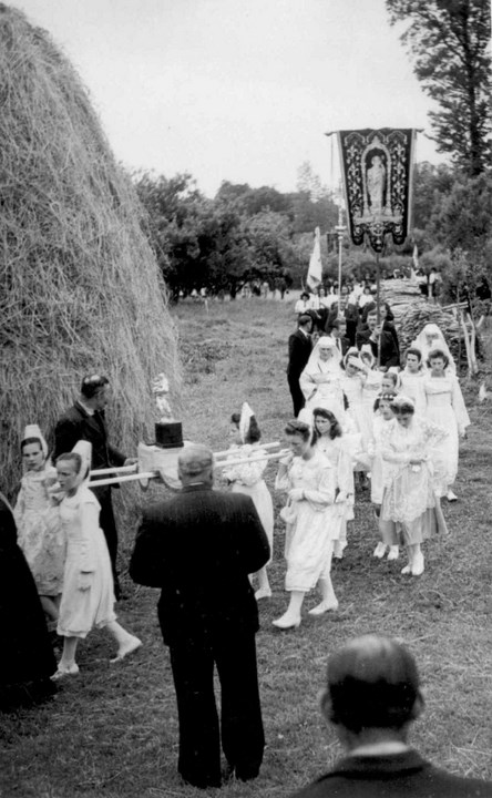 La procession à Trobalo