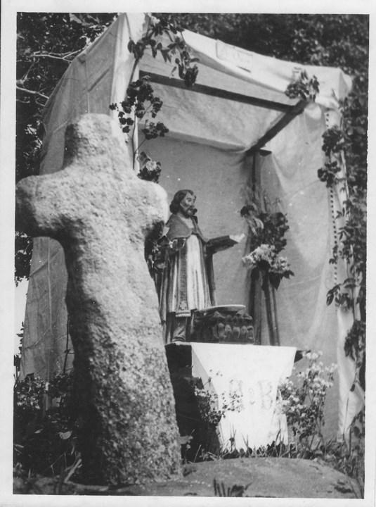 Hutte De st Ouen en 1947