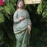 Statue de St Jean l'Evangéliste
