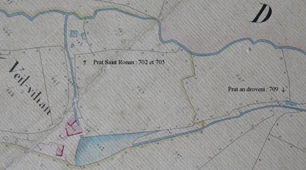 Prat Saint-Ronan et Prat an droveni