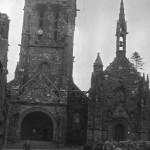 Démolition de la maison 171 en 1952
