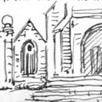Côté gauche de l'église