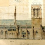 La face nord de l'église