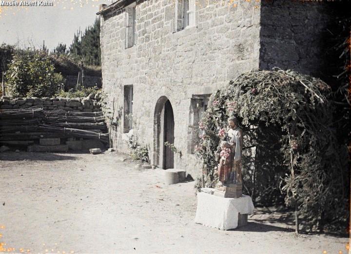 Hutte de St-Joseph - Autochrome Roger Dumas - 1929