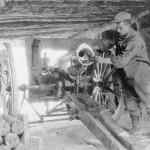 1916 - Septembre nettoyage de canon