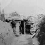 1916 - Septembre dans une une tranchee