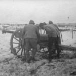 1917 - Mise en place d'une batterie