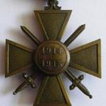 Croix de guerre - revers