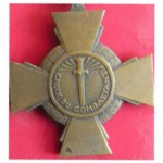 Croix du combattant - revers