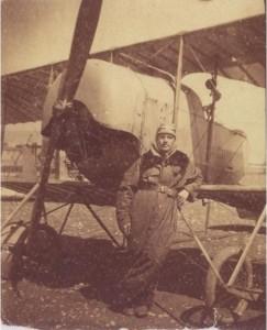 Alain HEUSSAFF et son aéroplane