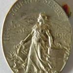 Journée Serbe-1916 Métal / 26x35mm