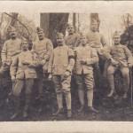 Louis CHIPON, 3ème à partir de la gauche, 2ème rang