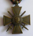 Croix de guerre - avers