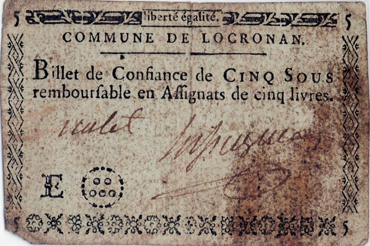 Billet Confiance Locronan