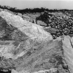Carrière, Locronan, 1951