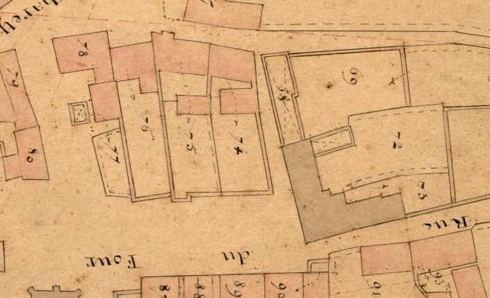 Ecole et mairie, 1847
