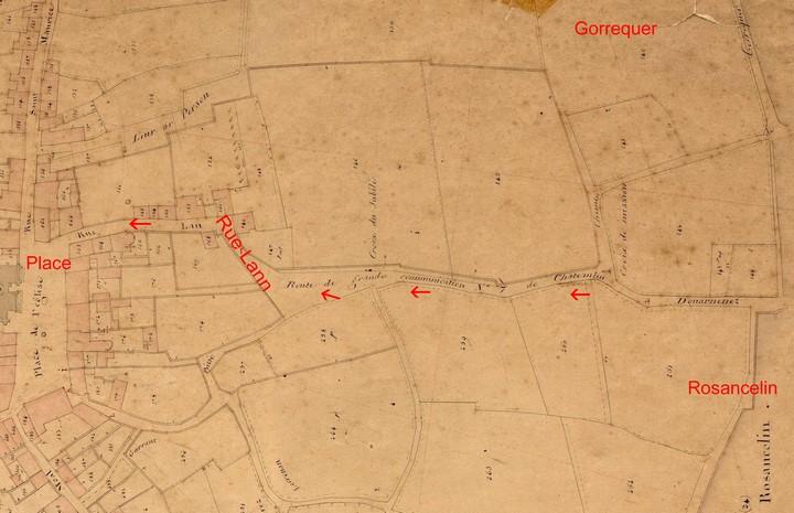 Entrée Ouest, 1847