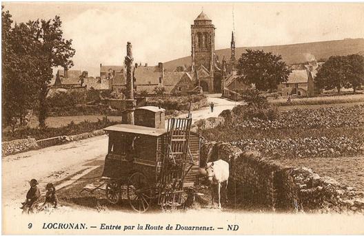 Entrée Ouest, vers 1920