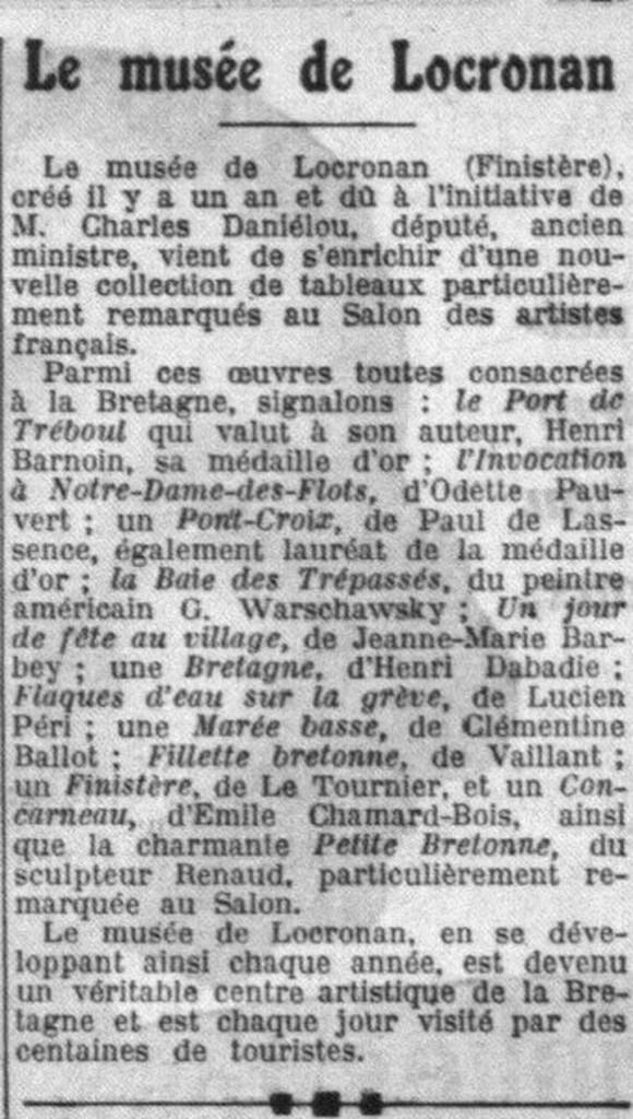 La Croix. 7 août 1935