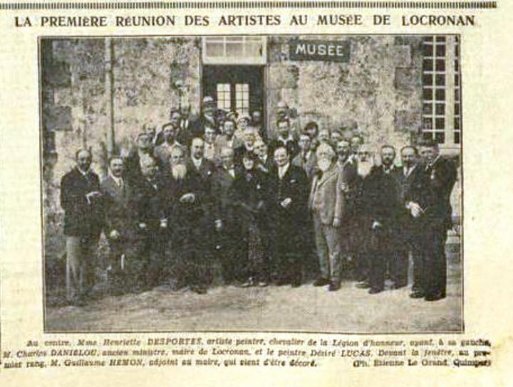 Inauguration, août 1934.