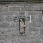 La statue de Notre Dame