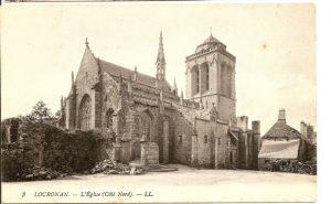 Démolitions, près de l'église