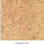 Rue Moal - Cadastre 1847