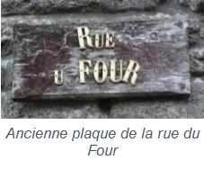 Rue du Four