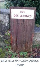 Rue des Ajoncs