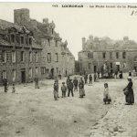 CP Villard, nord-ouest de la place vers 1900