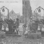 CP Villard, Haut de la place vers 1900