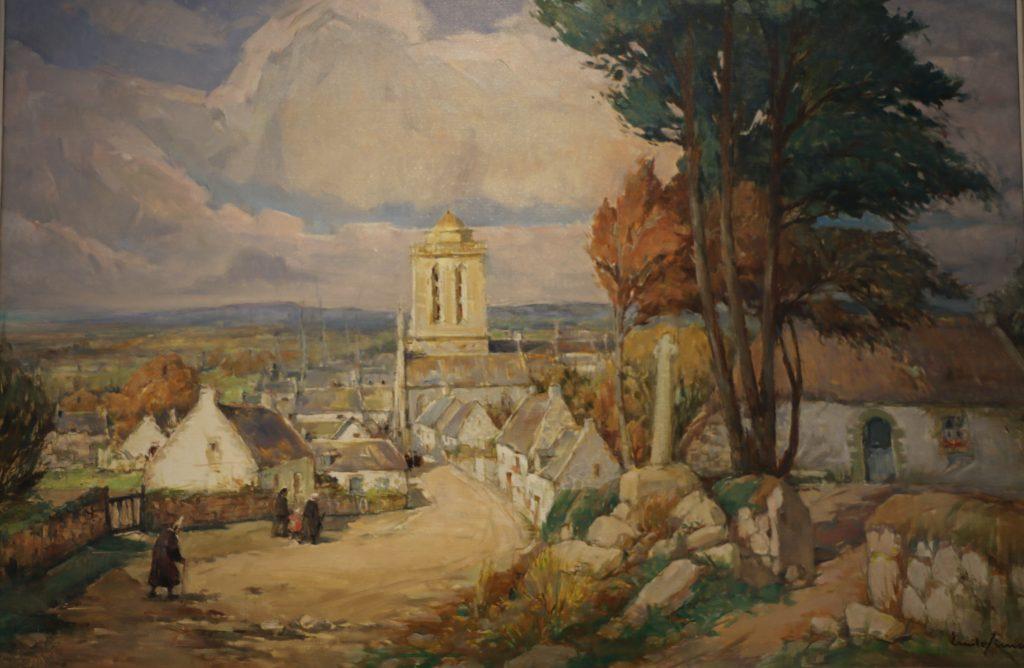 Emile Simon - Musée de Locronan - La Rue St Maurice