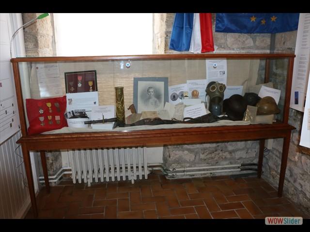 Exposition La Grande  Guerre 1914-1918